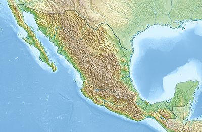 Location map Mexico