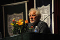 Michael Ondaatje at Tulane Oct 2010 flowers.jpg