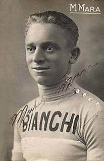 Michele Mara Italian cyclist