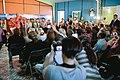 Michelle Bachelet participa en un encuentro con dirigentes sociales y vecinales de Puente Alto. (8657371699).jpg