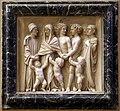 Michelozzo, frammenti del monumento di bartolomeo aragazzi, m. 1435, 04 defunto accolto in paradiso dalla famiglia.jpg