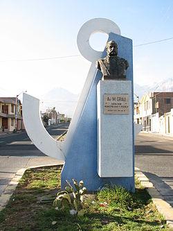 Miguel Grau Seminario 250px-Miguel_Grau_Statue_Acequia_Alta_Avenida_Grau
