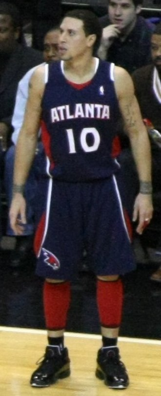 Mike Bibby - Bibby with the Hawks