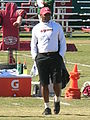 Mike Singletary at 49ers training camp 2010-08-11 1.JPG