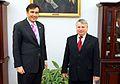 Mikheil Saakashvili Bogdan Borusewicz Senate of Poland.JPG