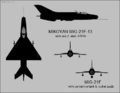 Mikoyan MiG-21F and MiG-21F-13.png