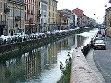 Il Naviglio Grande a Milano