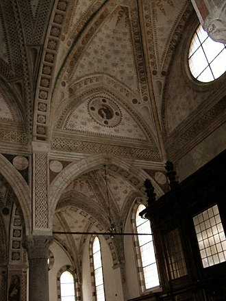 Santa Maria delle Grazie (Milan) - The Gothic nave.