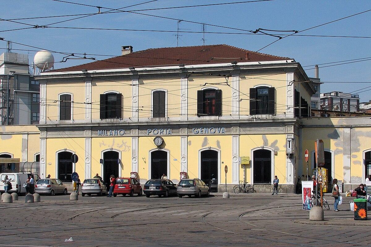 stazione di milano porta genova wikipedia
