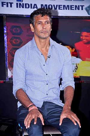 Milind Soman - Soman at the 2012 NDTV Marks for Sports event