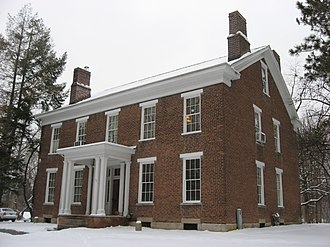 Millen House - Front and eastern side of the house