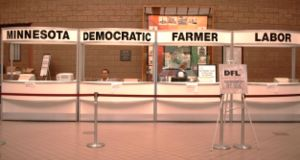 Minnesota Democratic–Farmer–Labor Party - DFL 2006 state convention registration desk.