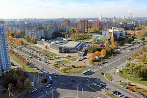 Minsk. View to South-West microraion.jpg