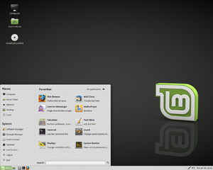 "Linux Mint version history - Linux Mint 18 ""Sarah"", current release with the MATE Desktop Environment"