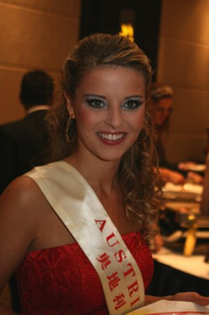 Christine Reiler - Christine Reiler during Miss World