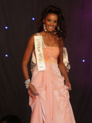 Tansey Coetzee - Image: Miss South Africa 08 Tansey Coetzee