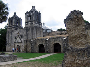 National Historic Site (United States) - San Antonio Missions NHP, Mission Concepción