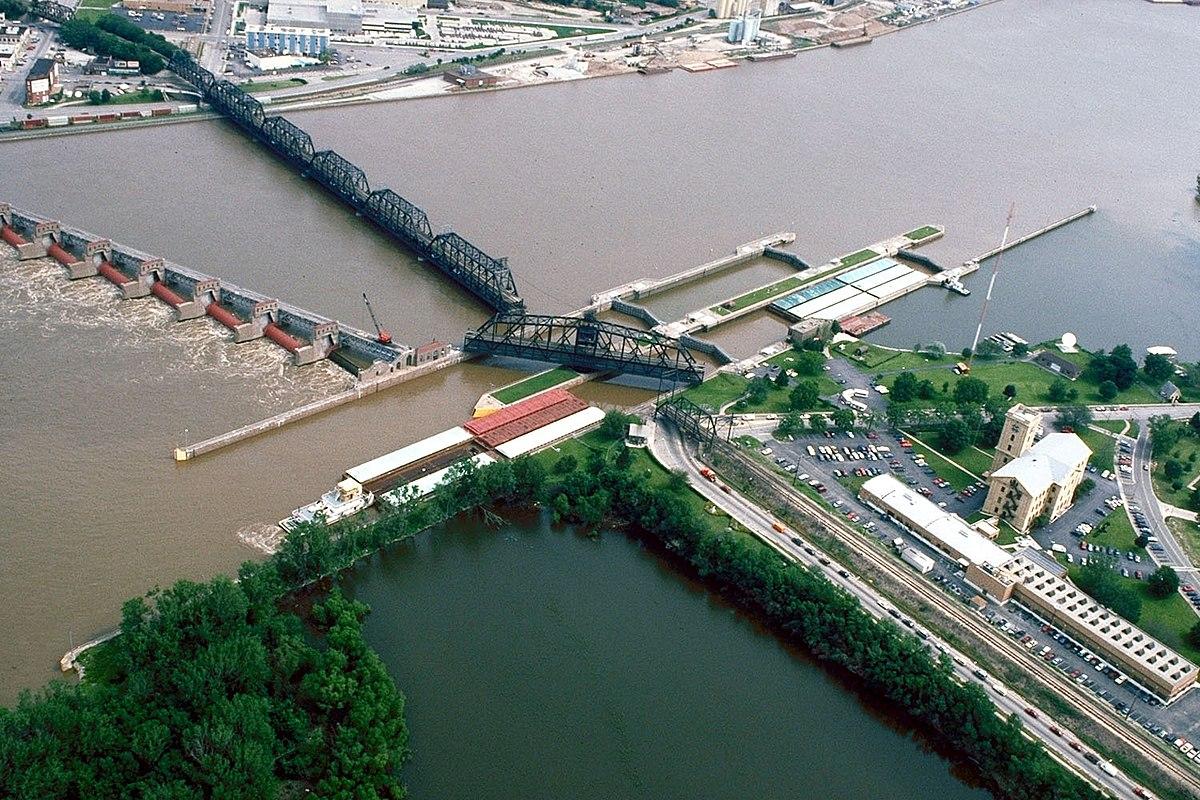 Lock and Dam No 15  Wikipedia