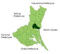 Mito in Ibaraki Prefecture.png