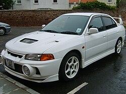 Mitsubishi Lancer Evolution IV (CN9A) – White