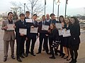 Mock trial team - Benet Academy.JPG