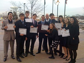 Mock trial - A high school mock trial team in Illinois