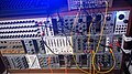 Modular synthesizer - Jam Syntotek, Stockholm, 2014-09-09 (photo by Henning Klokkeråsen).jpg