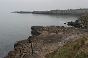Royal Charter (ship) - The Royal Charter broke up on these rocks near Moelfre