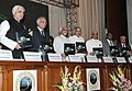 Mohd. Hamid Ansari releasing a book at the Golden Jubilee celebrations of the Bar Council of Punjab & Haryana, in Chandigarh. The Governor of Punjab, Shri Shivraj Patil.jpg