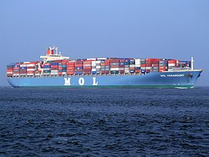 Mol paramount p1 approaching Port of Rotterdam, Holland 16-Jan-2005.jpg