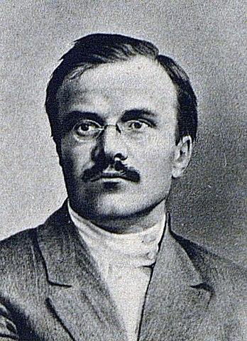 Вячеслав Скрябин (Молотов) в 1917г.