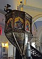 Monastery of Panagia Tourliani 09 - Pulpit.jpg