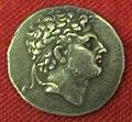 Monetiere di fi, moneta ellenistica argentea di perseo, 179-168 ac..JPG