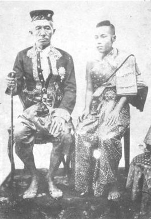 Debsirindra - King Mongkut and Queen Debsirindra