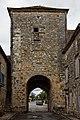 Monpazier - Porte de la ville rue Notre-Dame - PA00082681 - 001.jpg
