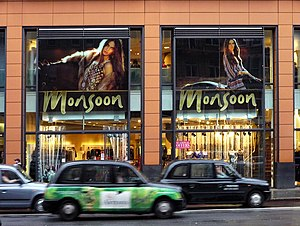 Monsoon Accessorize - Monsoon shop in Brompton Road, London
