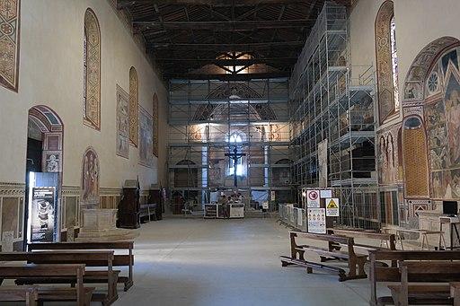 Montalcino - Chiesa di Sant'Agostino, interno