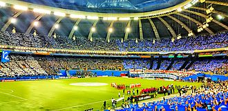 Montreal Impact - The Impact played the 2015 CONCACAF Champions League final before of a record 61,004