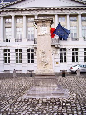 Alexandre Dechet - Image: Monument Jenneval Bxl