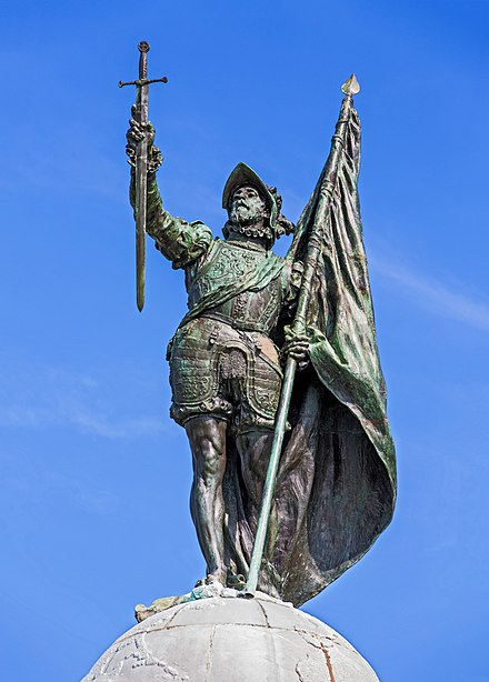Monument of Vasco Nunez de Balboa in Panama City Monumento a Vasco Nunez de Balboa - Flickr - Chito (3).jpg