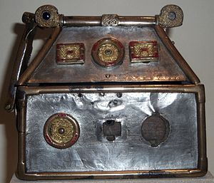 Monymusk Reliquary - The Monymusk Reliquary, early 8th century