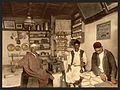 Moorish coffee house, Algiers, Algeria-LCCN2001697835.jpg