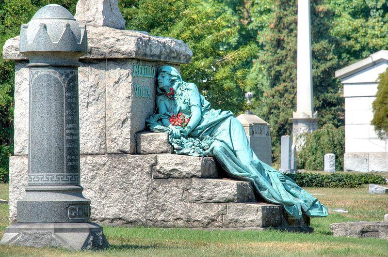File:Morello-Volta Monument, Greenwood Cemetery.jpg