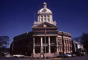 Morgan County Courthouse in Madison, im NRHP gelistet
