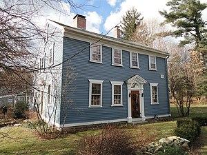 Morse–Tay–Leland–Hawes House - Image: Morse Tay Leland Hawes House Sherborn, Massachusetts DSC02979