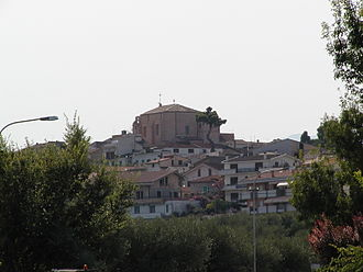 Moscufo - View of Moscufo.