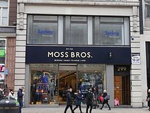Moss Bros Group Plc V Csc Properties Ltd