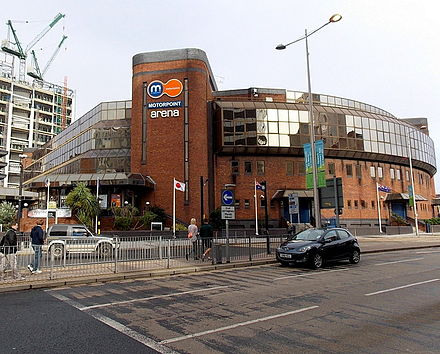 Motorpoint Arena Cardiff Motorpoint Arena in Cardiff.jpg