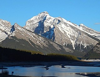 Mount Sparrowhawk Mountain in the Canadian Rockies