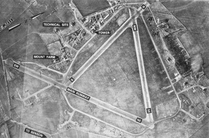 RAF Mount Farm - Image: Mountfarmafld 3jan 1946